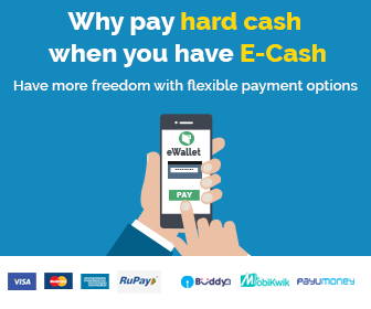 Why pay hard cash, pay with ecash Clear Car Rental