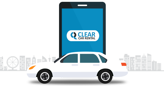 Download Clear Car Rental android app and hire a cab of your choice anytime, anywhere.