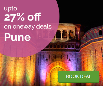 Pune oneway cab deal